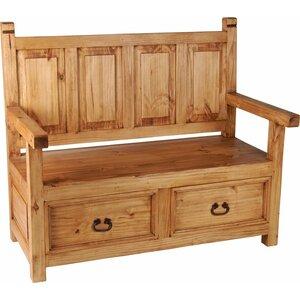 Sitzbank Mexico mit Stauraum aus Holz von Hazelw..