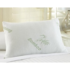 Rayon from Bamboo Memory Foam Pillow by Alwyn Home