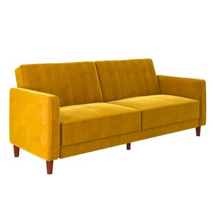 mustard yellow tufted sofa wayfair rh wayfair com yellow leather tufted sofa yellow button tufted sofa