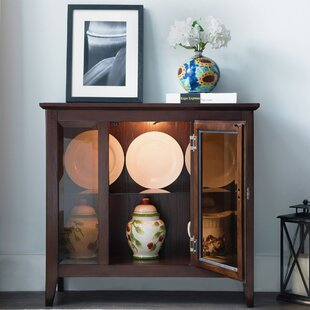 Lighted Console Curio Cabinets | Wayfair