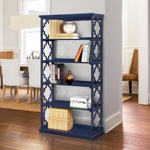 Blue Bookcase blue bookshelf | wayfair