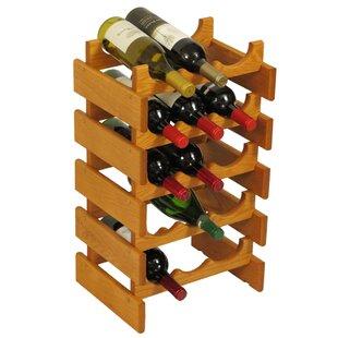 Dakota 15 Bottle Floor Wine Rack