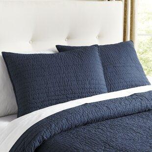 euro pillow shams teal wayfair