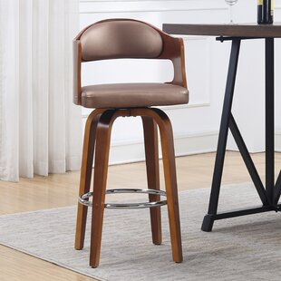 Blanco 27 Swivel Bar Stool