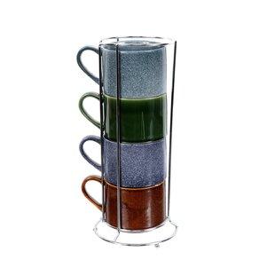 Stacking Mugs With Stand Wayfairca