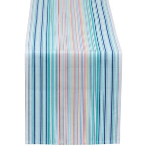 Beachy Keen Clearwater Stripe Table Runner