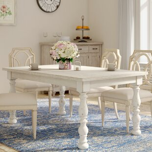 Distressed Finish White Kitchen Dining Tables You Ll Love Wayfair