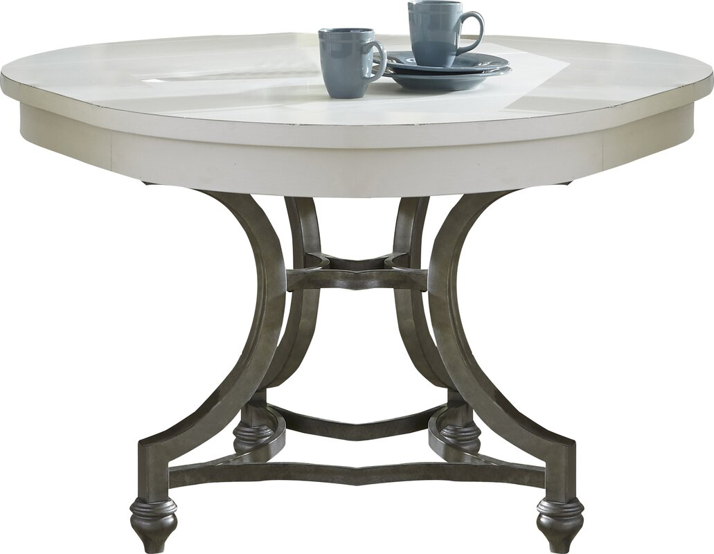 Dining Room Tables Gloucester Distressed Grey Round