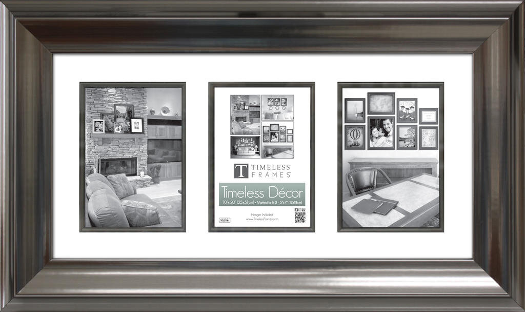 Timeless Frames Elise Matted 3 Opening Collage Picture Frame   Wayfair