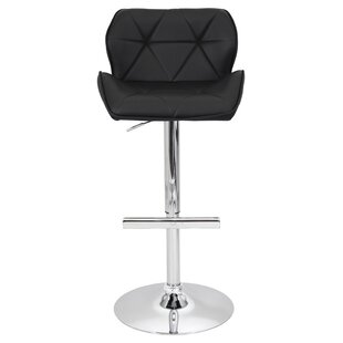 Aceves Adjustable Height Swivel Bar Stool