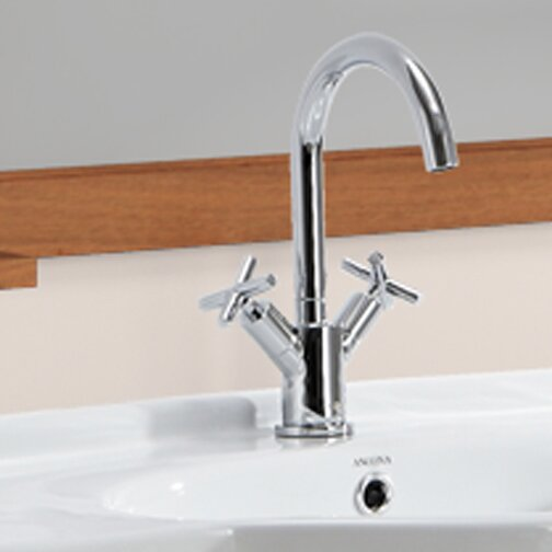 Prima Standard Bathroom Faucet with Optional Deck Plate