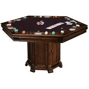 Wood Poker Table | Wayfair