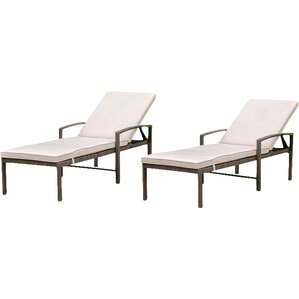 Chester Patio Chaise Lounge (Set of 2)  sc 1 st  Joss u0026 Main : chaise main - Sectionals, Sofas & Couches