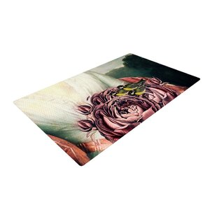 Suzanne Carter the Bouquet White/Pink Area Rug
