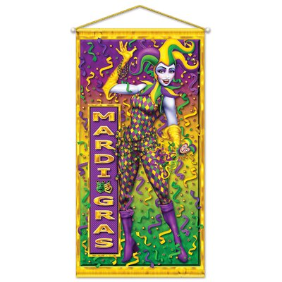 The Holiday Aisle Finkelstein Mardi Gras Wall Decor | Wayfair