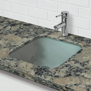 Merveilleux Save To Idea Board. DECOLAV. Translucence Glass Square Undermount Bathroom  Sink