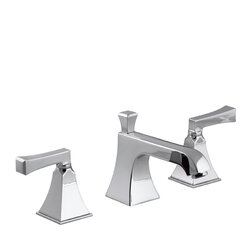 kohler memoirs widespread bathroom sink faucet with deco lever