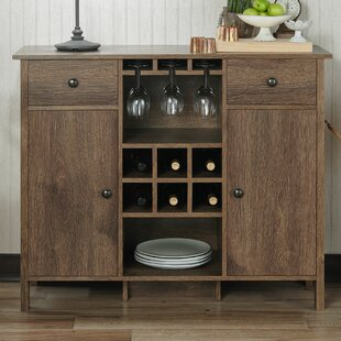 Pitzer Bar with Wine Storage