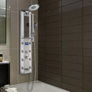 Led Diverter Dual Function Shower Panel Includes Rough In Valve
