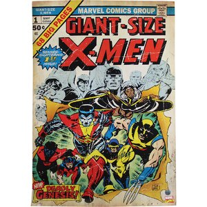 Stan Lee Signed X-Men Stan Lee Auth Vintage Advertisement