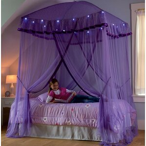 sparkling lights bed canopy - Multi Canopy Decor