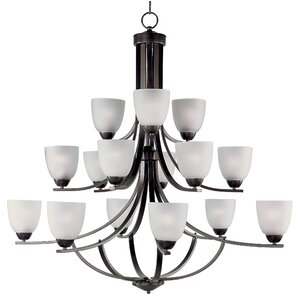 Hayden 15-Light Shaded Chandelier