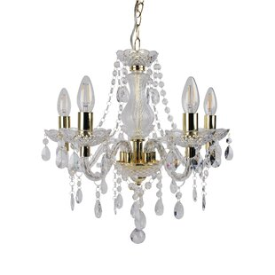 Gold chandeliers wayfair save mozeypictures Choice Image