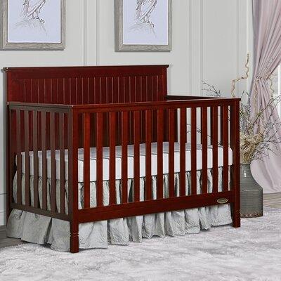 Alexa 5-in-1 Convertible Crib Dream On Me Color: Cherry