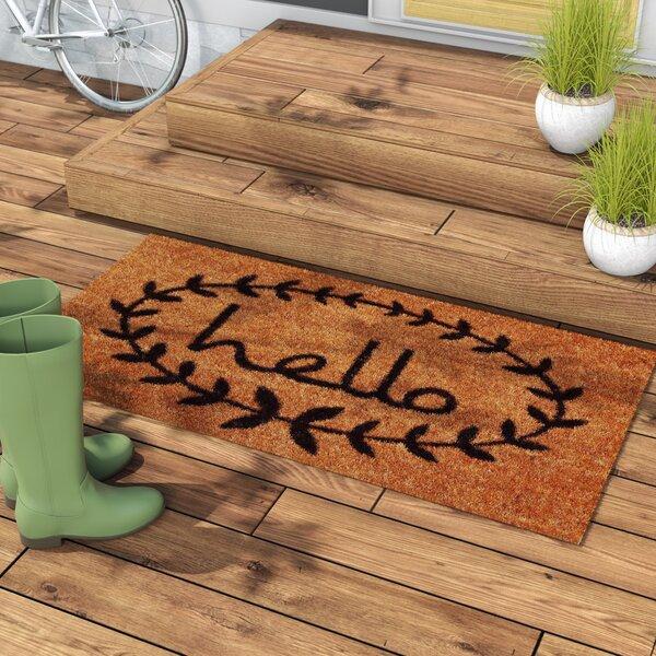 Fresh Laurel Foundry Modern Farmhouse Sulema Hello Doormat & Reviews  UJ48