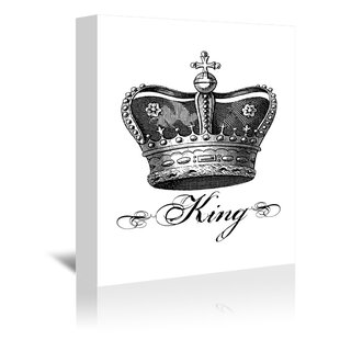 King And Queen Crowns Wall Art Wayfair