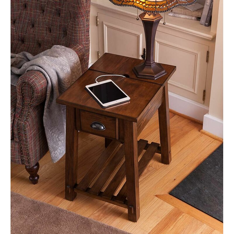 Superieur Canyon Charging End Table
