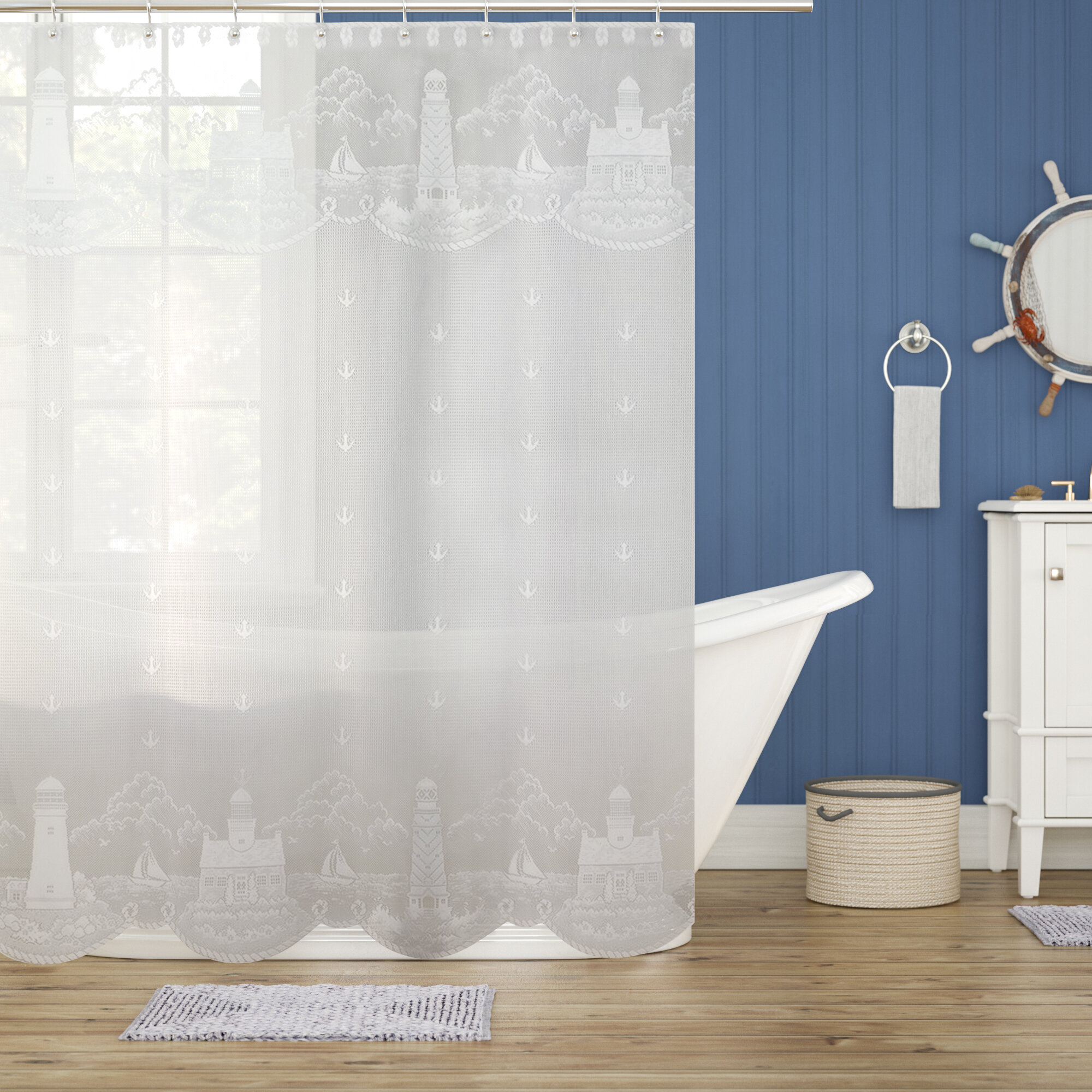 2dcdc13d002 Beachcrest Home Huffman Shower Curtain   Reviews