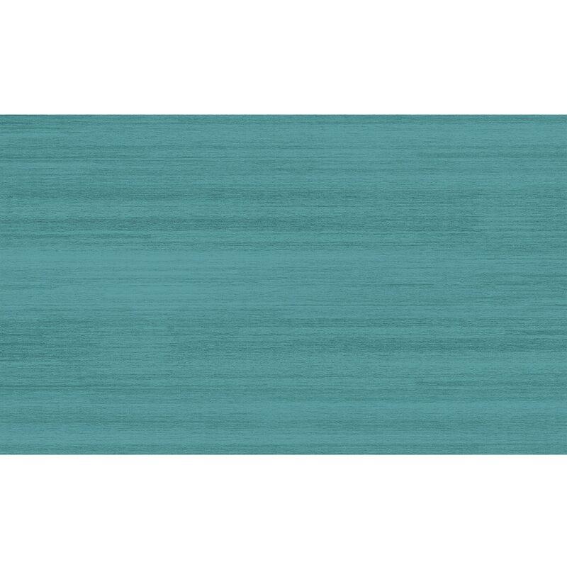 Solid Textured Ocean Blue Indoor/Outdoor Area Rug