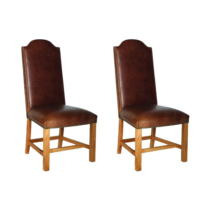 chateau solid oak upholstered dining chair