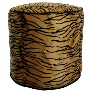 Tiger Soft Pouf Ottoman by R&MIndustries