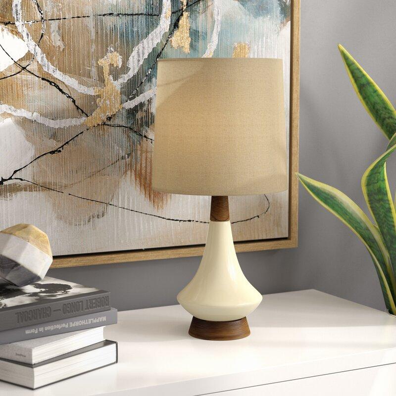 George oliver villela retro 19 table lamp reviews wayfair villela retro 19 table lamp aloadofball Images