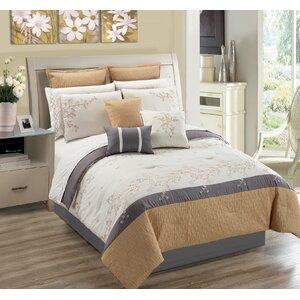 Greenmeadow Ivory 7 Piece Comforter Set