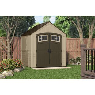 D Resin Storage Shed
