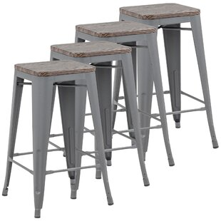 Anneliese 26 Bar Stool (Set Of 4) 2019 Online