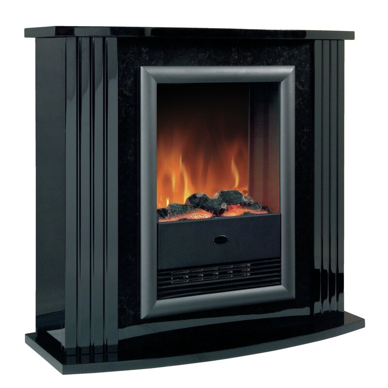 Mozart Suite Optiflame Electric Fireplace