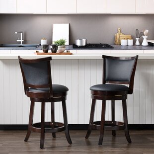 Alzamora 25 Swivel Bar Stool (Set of 2)
