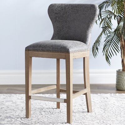 Low Back Wood Bar Height Bar Stools You Ll Love In 2019 Wayfair