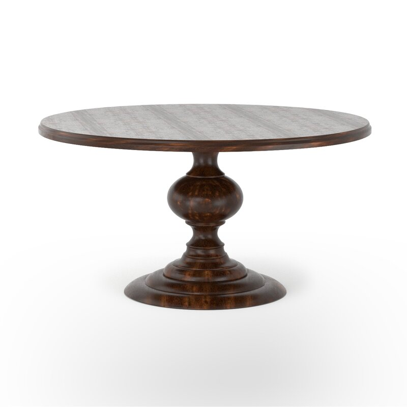 Pamela Solid Wood Dining Table
