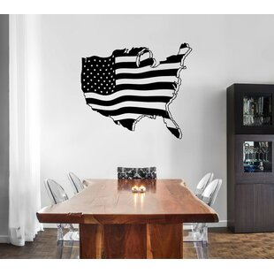 United States Map Wall Decal Wayfair - Us map wall decal
