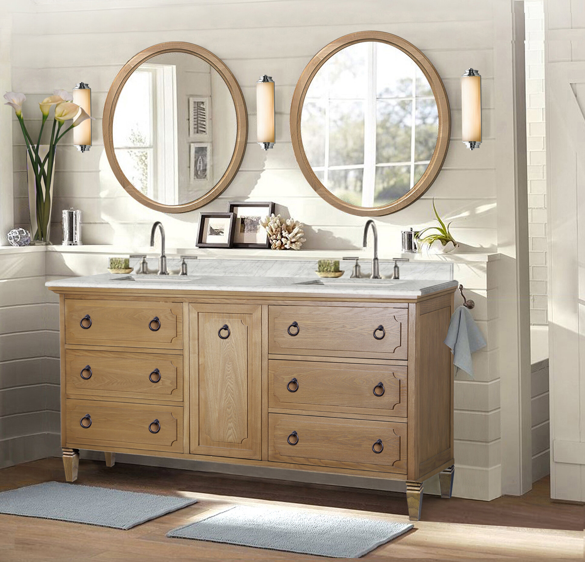 miami vanity set vanities sink double mtd bathroom