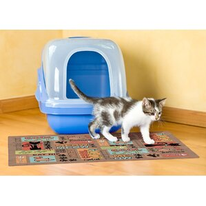 Cat Litter Mat  sc 1 st  Wayfair & Litter Box Accessories Youu0027ll Love | Wayfair Aboutintivar.Com