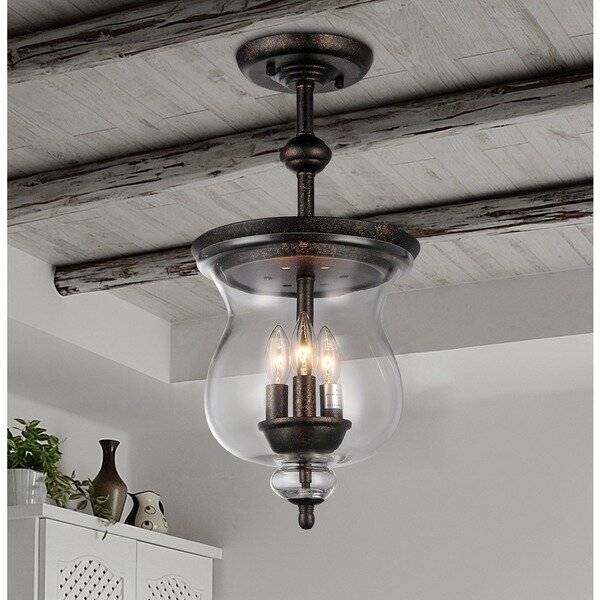 Warehouse of tiffany madigan 3 light schoolhouse pendant reviews madigan 3 light schoolhouse pendant aloadofball Images