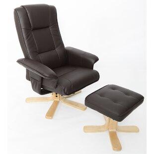 swivel chair with footstool wayfair co uk