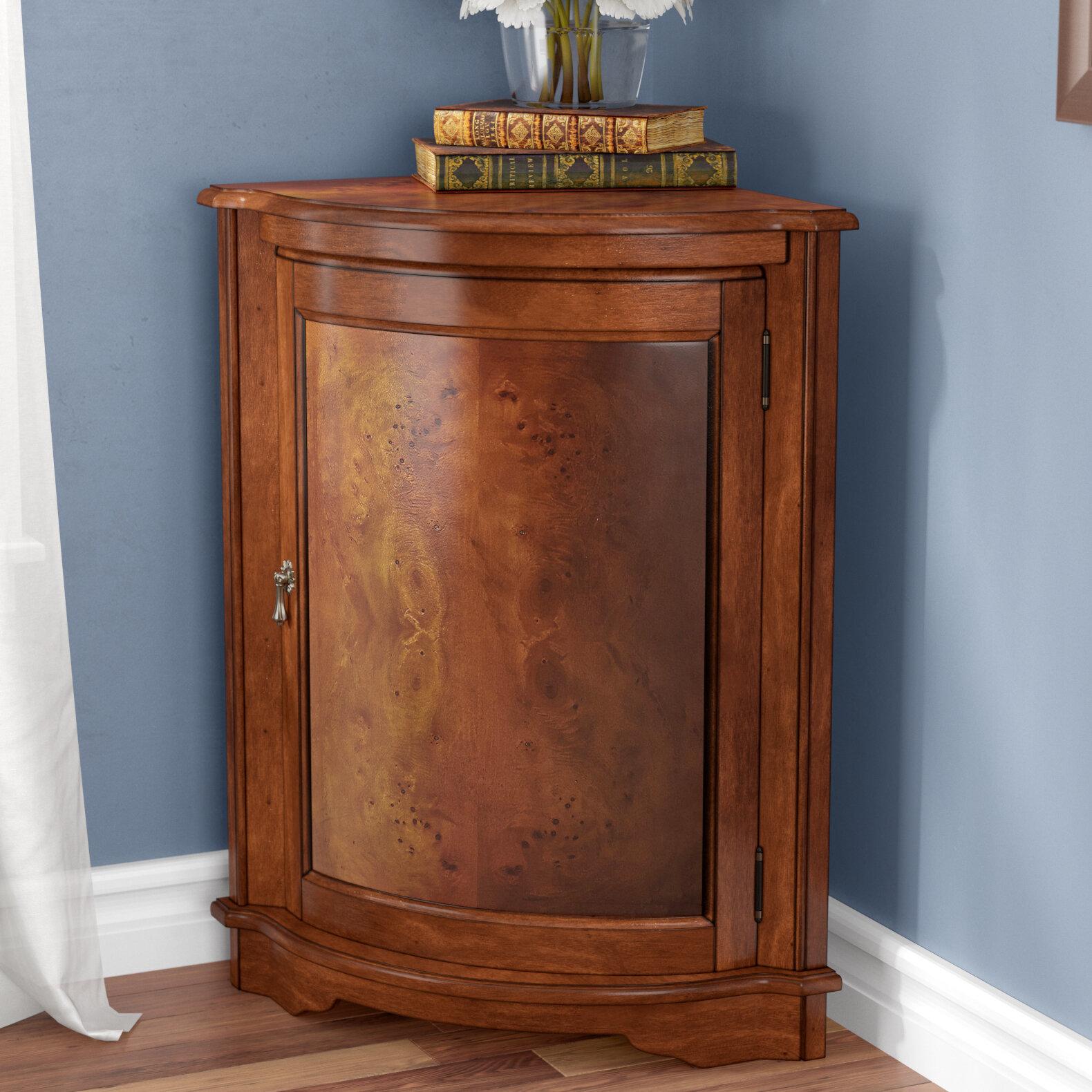 Corner Accent Cabinet
