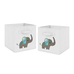 Elephant Fabric Storage Cube  sc 1 st  Wayfair.ca & 10 Inch Storage Cube   Wayfair.ca